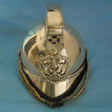 Brass Fire Chief Officer Helmet