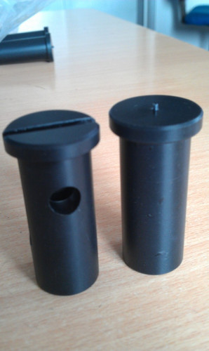 Black Plastic Machined Components