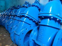 DI Metal Seated Sluice Valve