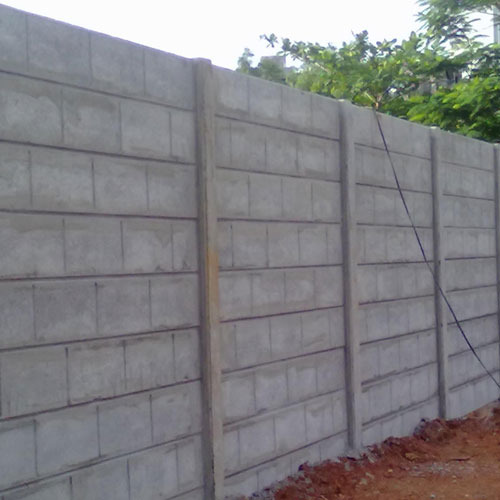 Precast Compound Wall at Best Price in India