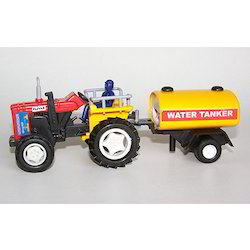 Toy Tractor With Tanker