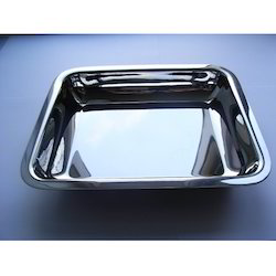 Stainless Steel Hospital Instrument Tray
