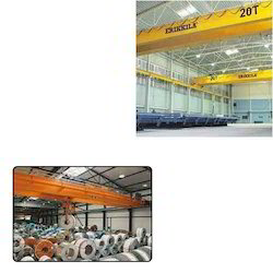 Double Girder Crane for Material Handling Work