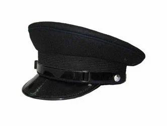 Black Security Guard Cap
