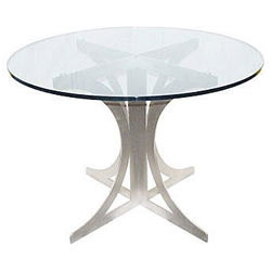 Amazing Round Glass Table