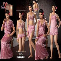 Six Piece Bridal Nighty