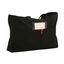 Dyed Cotton Plain Canvas Carry Bag, Size: 16 X 12 + 5 Ag