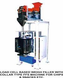 Weigh Filler Collar Type Packing Machine