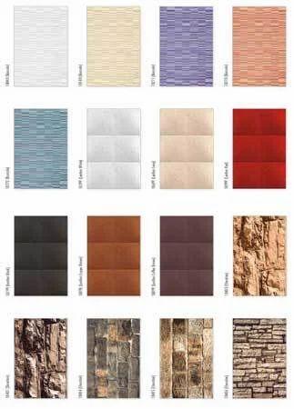 Exterior Series Wall Tile at Rs 120/box | बाहरी दीवार की ...