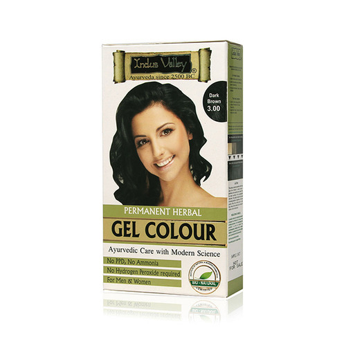 Indus Valley Permanent Herbal Hair Color, Ayurvedic Hair Dye ...