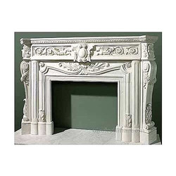 Prabhat White Marble Fireplaces