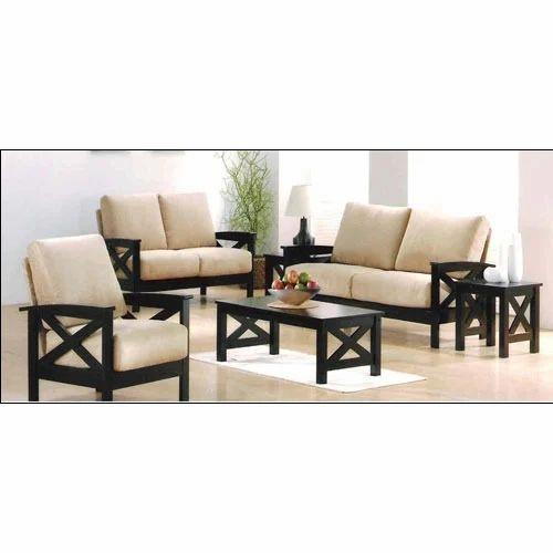 . Modern Furniture   Black Italian Leather Sofa Manufacturer from Jaipur