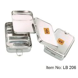 Stainless Steel Rectangular Eco Friendly Lunch Box