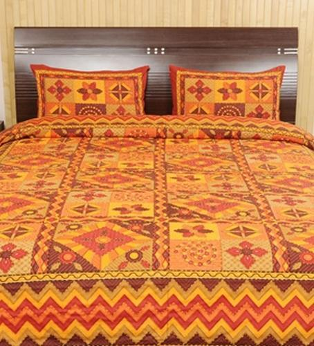 Colourful Kantha Bedsheets