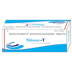 Accelofenac With Thiocolicoside Tablets