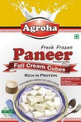 Agroha Fresh Cubes Paneer 500 Grams/Cubes Cheese