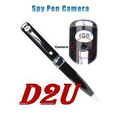 Spy Camera Pen DVR Support Audio And Video Recording