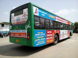 Bus Branding Advertising Service