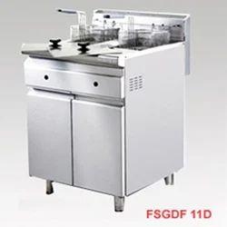 Stainless Steel Gas Deep Fryer