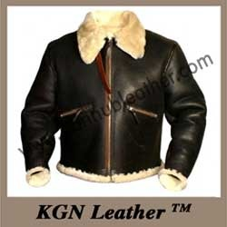 Sheepskin Fake Fur Russian Flight Jacket - KGN Leather, Mumbai ...