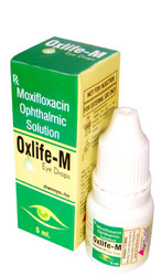 Moxifloxacillin 0.5/ 5ml Drops- Eye drop