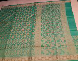 Banaras Net Cotton Saree