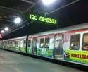 Metro Offline Mumbai Local Train Advertisements, In Pune