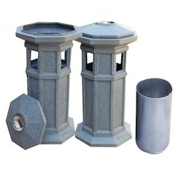 Pillar Shaped Bins