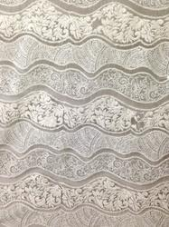 Dyeable Georgette Embroidery Fabric