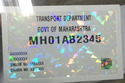 Transparent Holograms for Paper Labels