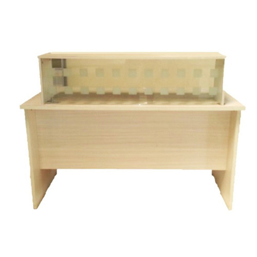 2ec186f1f6562 Reception Table - Glass Reception Counter Table Manufacturer from Mumbai