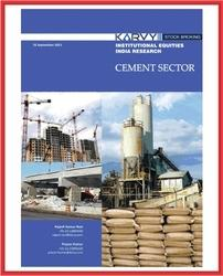 Cement Sector Karvy Printing Service