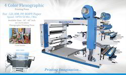One To Eight Colour Mild Steel Flexo Printing Machine, Number Of Colors: 1 To 8 Colours