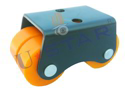 Delrin Bearing Four Wheel Caster