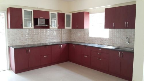 C Shaped Modular Kitchen, Modular Kitchen | Bengaluru | SR Interiors ...