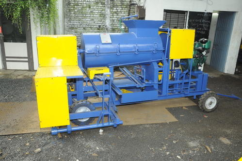 Single Drum Clay Brick Machine