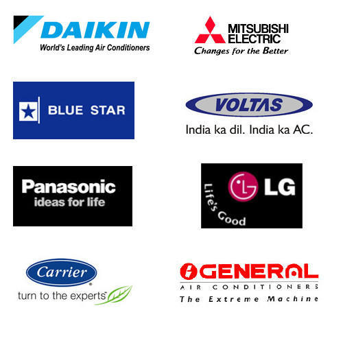 Yugal Air Conditioners Brands We Deal In