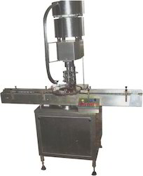 Automatic Plastic Metal Cap Locking Machine