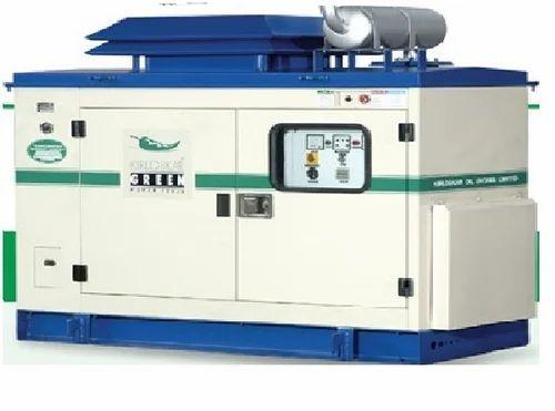 Kirloskar Water Cooled Diesel Generator Water Cooled