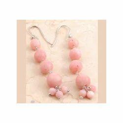 Pink Opel Earrings