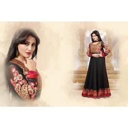 Black Color Anarkali Suits