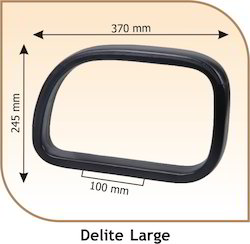 Delite Large Oval Shaped Chair Handle
