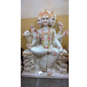 Exclusive Sheetala Mata In White Marble Statue