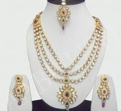 11d04f9f82c5e5 Bridals Jewellery - Beaded Bridal Jewelry Manufacturer from Faridabad