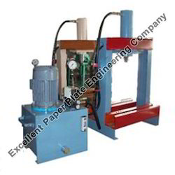 Paper Thali Machine