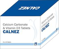 Calcium Carbonate & Vitamin D3 Tablets