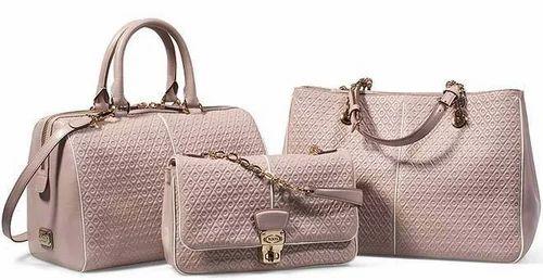 5d0d9cf6f0b5 Plain Leather Designer Ladies Handbags