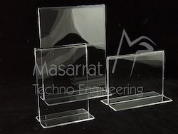 Acrylic - Double Sided T Frames Holder