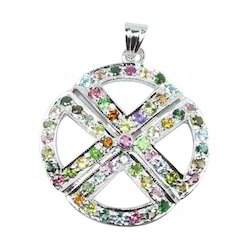 Tourmaline Gemstone Pendant