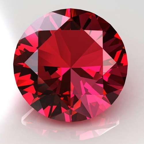 octagon ruby rubi at gems information gemstone burma ajs